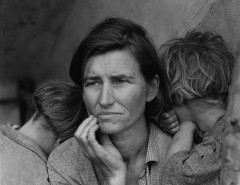 """Migrant Mother"" von Dorothea Lange"